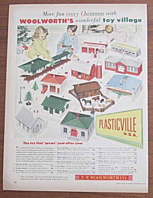 1952 Woolworth Co. with Plasticville U.S.A. (Image1)