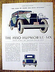 1930 Hupmobile Six