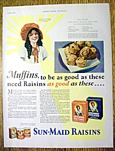 1929 Sun-maid Raisins