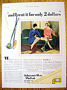 1929 Johnson's Wax Polish