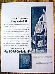 Vintage Ad: 1929 Crosley Radio (Image1)