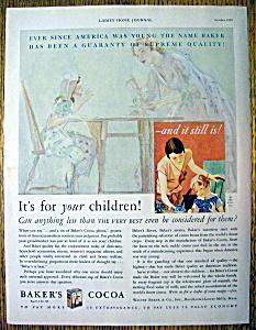 1929 Baker's Cocoa (Image1)