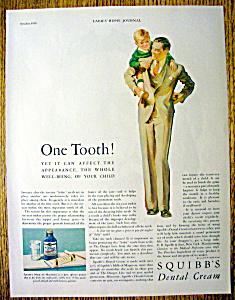1929 Squibb Dental Cream (Image1)