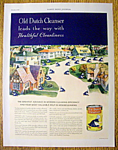 1929 Old Dutch Cleanser