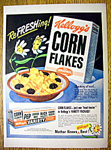 1949 Kellogg's Corn Flakes Cereal