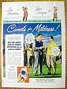 1949 Camel Cigarettes with Lew Worsham/Gene Sarazen (Image1)