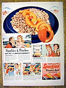 1941 Quaker Sparkies Cereal
