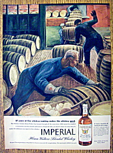 1945 Imperial Whiskey By Franklin Boggs