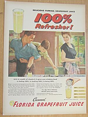 1946 Florida Grapefruit Juice with Boy Reaching Juice (Image1)