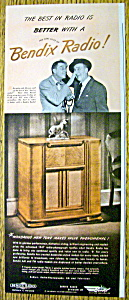 1947 Bendix Radio with Jimmy Durante & Gary Moore (Image1)