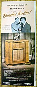 1947 Bendix Radio with Jimmy Durante & Gary Moore (Image1)