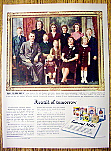 1947 General Mills With The Knop Family