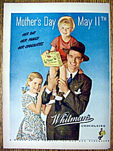 1947 Whitman's Chocolates For Mother's Day (Image1)