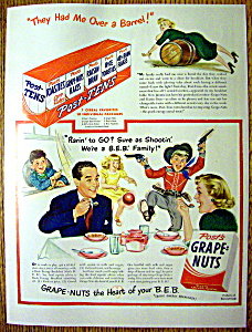 1949 Post Grape Nuts Cereal (Image1)