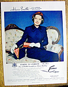 1949 Evans Hand Bags with Alexis Smith (Image1)