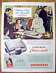 1952 Universal Cook A Matic with Elsa Maxwell (Image1)