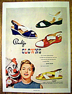 1952 Penaljo Clown Sandals (Image1)