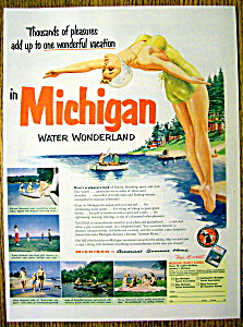 1952 Michigan (Water Wonderland) (Image1)