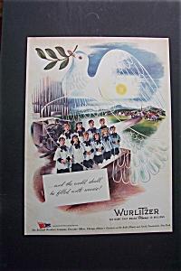 Vintage Ad: 1943  Wurlitzer  Company (Image1)