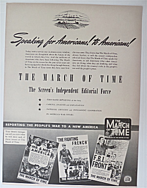 1942 The March Of Time With Speaking For Americans