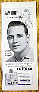 1963 Mennen Afta After Shave Lotion with Sam Huff (Image1)