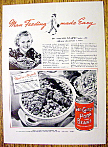 1937 Van Camp Pork & Beans (Image1)