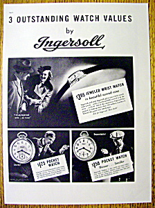 1937 Ingersoll Watch