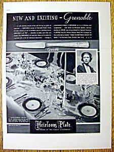 1937 Heirloom Plate Silverware with Elizabeth Peacock (Image1)