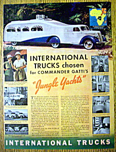1938 International Trucks W/ Commander & Mrs. Gatti