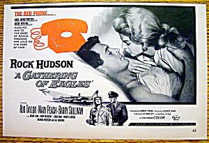 Vintage Ad: 1963 A Gathering of Eagles with Rock Hudson (Image1)