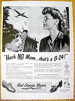 Vintage Ad: 1944 Red Goose Shoes For Boys & Girls (Image1)