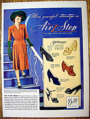 Ad:1942 Air Step Shoes With Magic Sole for Women (Image1)