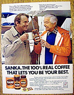 1979 Sanka Coffee with Robert Young & Man Talking (Image1)