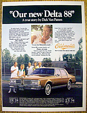 1981 Oldsmobile Delta 88 W/dick Van Patten & Family