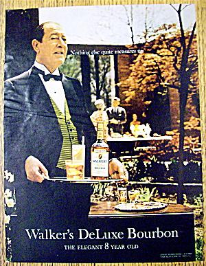 1967 Walker's Deluxe Bourbon with Waiter (Image1)