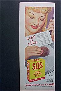 1944  S. O. S.  Magic  Scouring  Pads (Image1)