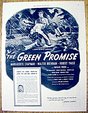 1949 The Green Promise With W. Brennan & M. Chapman