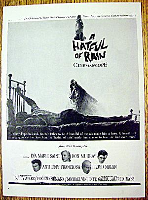 1957 A Hatful of Rain w/E. Marie Saint & A. Franciosa (Image1)