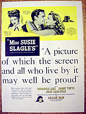 1946 Miss Susie Slagle's W/veronica Lake & Sonny Tufts