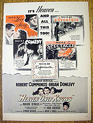 1947 Heaven Only Knows With Robert Cummings
