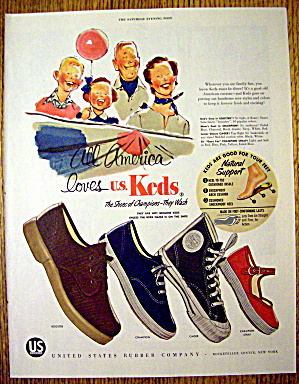 1955 Keds Shoes with Booster, Champion, Cager & More (Image1)