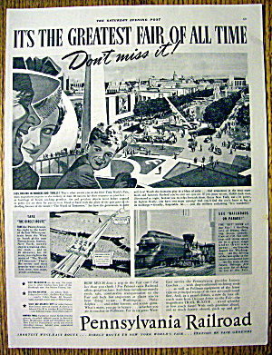 1939 Pennsylvania Railroad with the Greatest Fair (Image1)