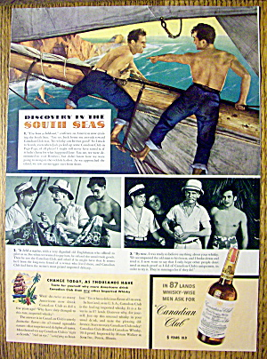 1940 Canadian Club Whiskey (Image1)