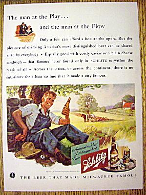 1941 Schlitz Beer (Image1)
