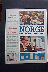 1944 Norge Household Appliances with Soldier on Phone (Image1)