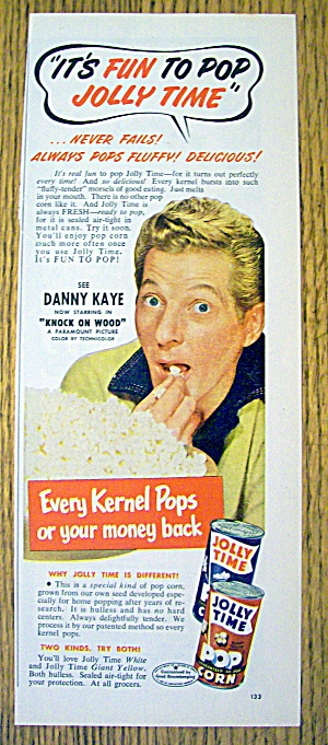 1953 Jolly Time Popcorn with Danny Kaye (Image1)