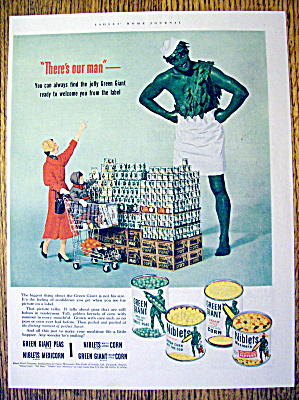 1953 Green Giant Vegetables