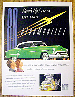 1953 Oldsmobile Holiday Coupe
