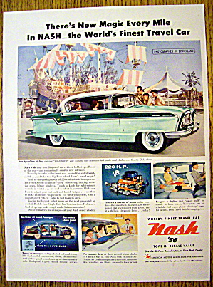 1956 Nash Ambassador Country Club with Disneyland (Image1)