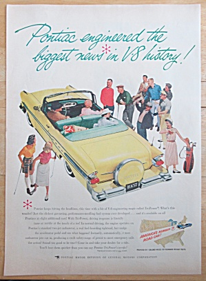 1957 Pontiac with Yellow Convertible Pontiac (Image1)
